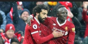 MANE DOUBLE HELPS LIVERPOOL EARN 500TH EPL WIN
