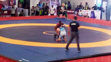 HIDDEN NIGERIAN TALENTS UNCOVERED AS AFRICAN WRESTLING CHAMPIONSHIP PROGRESSES