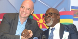 FIFA PRESIDENT, INFANTINO, GIVES KUDOS TO SUPER EAGLES, NIGERIAN FANS
