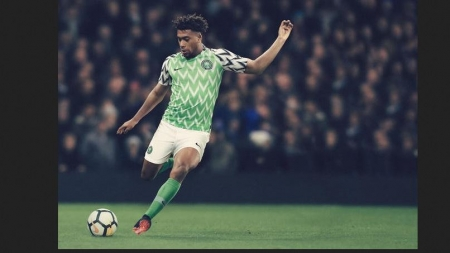 BRITISH NEWSPAPER RATES SUPER EAGLES' WORLD CUP KIT AS THE BEST