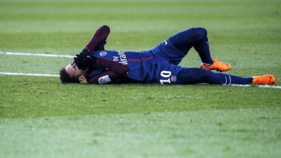 NEYMAR BEGINS FITNESS RACE FOR WORD CUP