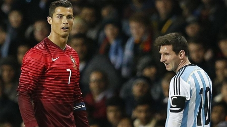 MESSI, RONALDO WILL BE NEIGHBOURS AT FIFA WORLD CUP IN RUSSIA