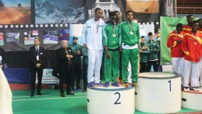 NIGERIA BADMINTON TEAM SHINES IN ALGERIA