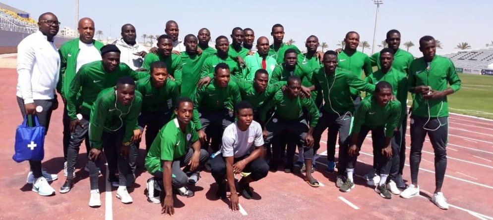 NIGER FIRES WARNING SHOTS AT NIGERIA'S FLYING EAGLES