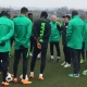 CAMP BUBBLES AS 22 SUPER EAGLES TRAIN AT STEPHEN KESHI STADIUM