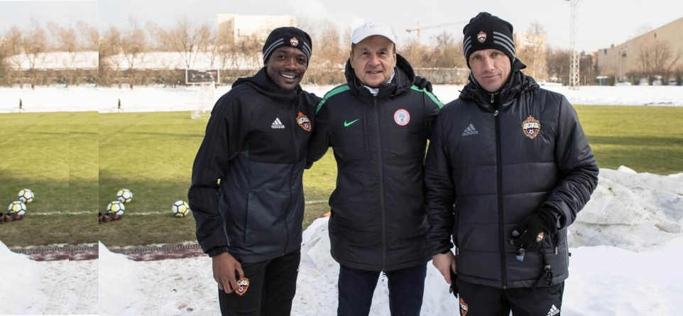 ROHR BUOYS MUSA'S SPIRIT IN RUSSIA