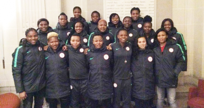PRESTIGE FRIENDLY: SUPER FALCONS PRIMED FOR GOOD OUTING AGAINST FRANCE