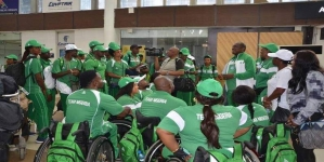 TEAM NIGERIA HIT GOLD MINE AT GOLD COAST