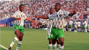 FIFA PAYS TRIBUTE TO SUPER EAGLES' CLASS OF 1994