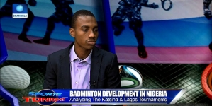 NIGERIAN BADMINTON PLAYERS RETURN FROM INDONESIA