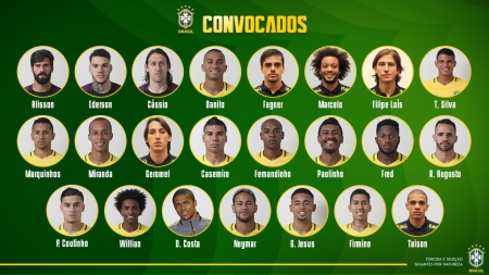 NEYMAR MAKES THE CUT AS BRAZIL RELEASES FINAL 23-MAN SQUAD