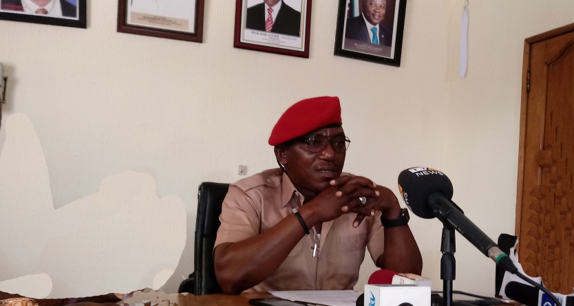 NIGERIA'S SPORTS MINISTER, DALUNG TIPS NIGERIAN WRESTLERS FOR 2020 OLYMPIC SUCCESS