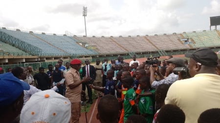 SWAN LAUDS SPORTS MINISTRY OVER NATIONAL YOUTH GAMES