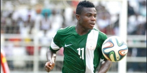WORLD CUP UNLUCKY MOSES SIMON FINDS LUCK IN POSSIBLE LIVERPOOL MOVE