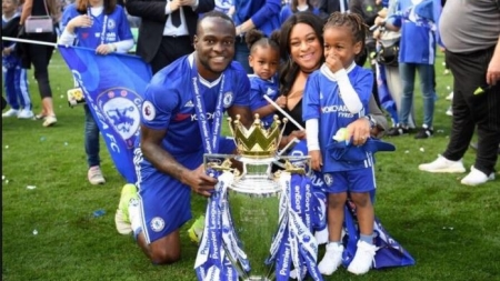 VICTOR MOSES BECOMES SIXTH NIGERIAN WINNER OF ENGLISH FA CUP