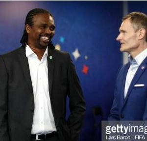 VIDEO: FIFA LEGEND, KANU PLAYED A ROLE IN NIGERIA'S WIN