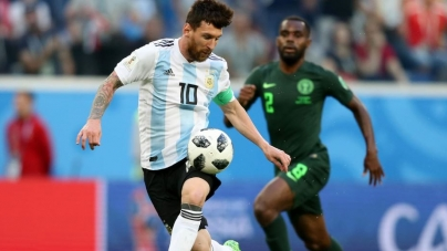 VIDEO: MESSI'S STRIKE VS NIGERIA NOMINATED FOR FIFA'S PUSKAS AWARD