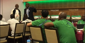 AHEAD OF CLASH WITH ICELAND, ODEGBAMI GIVES PEP TALK TO SUPER EAGLES