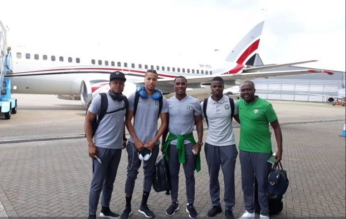 CONFIDENT EAGLES LAND IN SFAX FOR KNIGHTS
