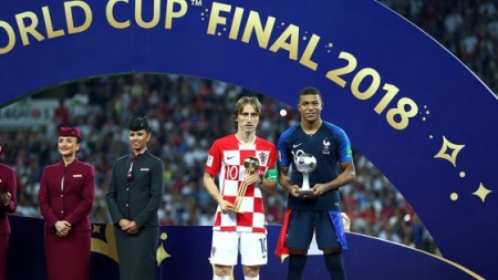 LUKA MODRIC IS RUSSIA 2018 WORLD CUP BEST PLAYER
