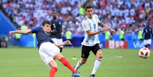 VIDEO: PAVARD'S STUNNER BEATS AHMED MUSA'S GOAL TO BECOME RUSSIA 2018 GOAL OF THE TOURNAMENT
