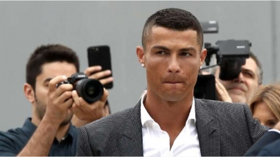 RAPE CHARGE: JUVENTUS STAND BY RONALDO
