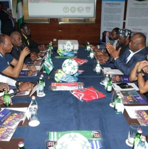 PHOTOS: IFEANYI UBAH LAUNCHES AFRICA FOOTBALL REVOLUTION INNITIATIVE IN MOSCOW