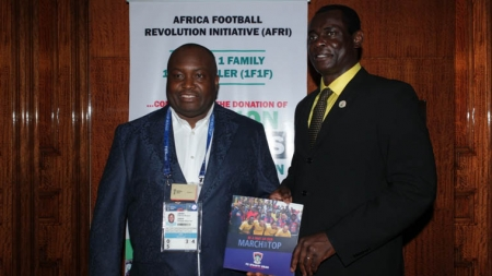 DALUNG APPLAUDS IFEANYI UBAH'S 1 FAMILY 1 FOOTBALLER PROJECT