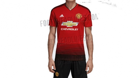 YET TO BE UNVEILED NEW MANCHESTER UNITED'S KIT LEAKED