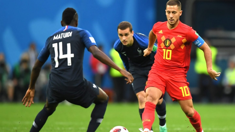 BELGIAN RED DEVILS EXORCISED; IT'S FRANCE FOR FINAL!