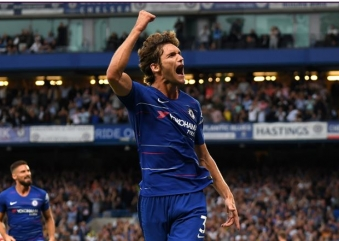 ALONSO AT THE NICK OF TIME SAVES CHELSEA FROM ARSENAL COMEBACK