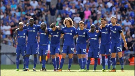THREE GROUPS STRUGGLE TO BUY CHELSEA