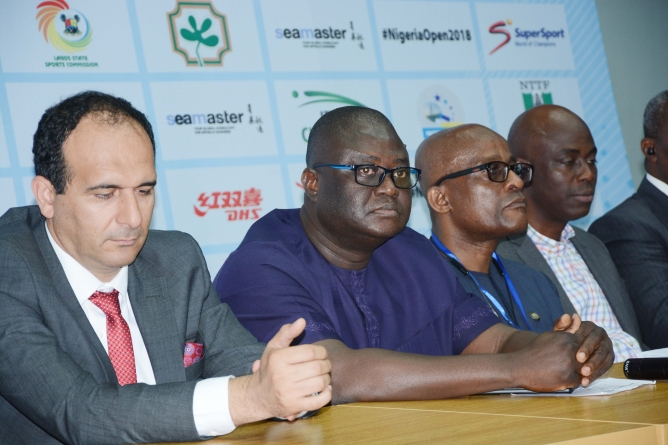 NIGERIA TABLE TENNIS CHIEF, TIKON PROMISES THE BEST OF THE