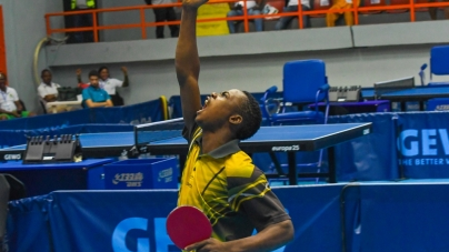 JAMIU, SOLANKE SALVAGE NIGERIA IMAGE AT DAY 2 OF ITTF NIGERIA OPEN