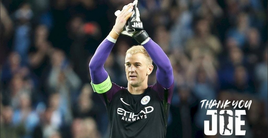 REIGNING EPL CHAMPIONS, MAN CITY TO HONOUR DEPARTING JOE HART