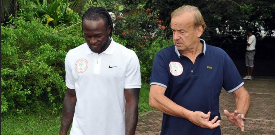VICTOR MOSES HAS TO PROVE HIMSELF TO RETURN TO SUPER EAGLES, SAYS ROHR