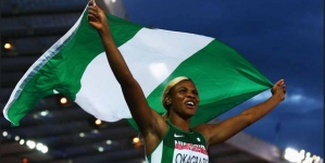 BLESSING OKAGBARE WINS AT DIAMOND LEAGUE IN CALIFORNIA