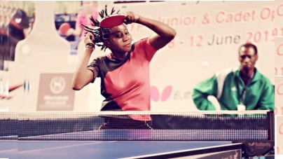 HOW NIGERIA'S NO 1 LADIES' JUNIOR TABLE TENNIS PLAYER COMBINES ACADEMICS WITH SPORTS