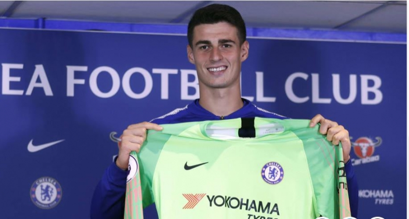 NO TENSION', SAYS GOALKEEPER KEPA AFTER WORLD RECORD FEE SIGNING