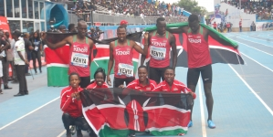 KENYA BEAT ALL TO TOP AFRICAN ATHLETICS CHAMPIONSHIPS