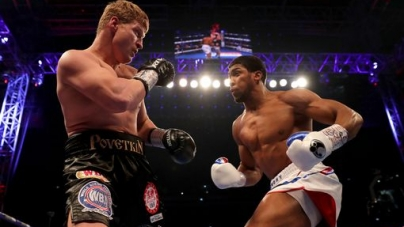 UPDATE – ANTHONY JOSHUA WINS IN 7TH ROUND BY KO!