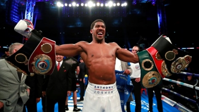 ANTHONY JOSHUA SPEAKS ON FUTURE PLANS