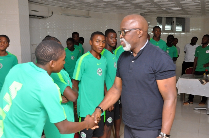 STAY FOCUSED TO PICK AFCON TICKET, PINNICK CHARGES EAGLETS