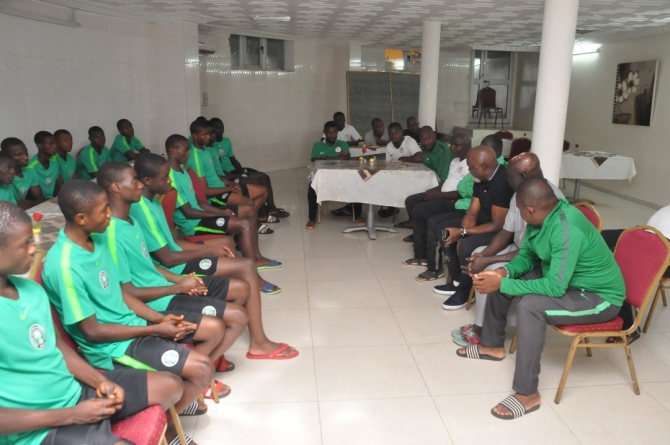 NIGERIA'S GOLDEN EAGLETS TO PARTICIPATE IN INVITATIONAL TOURNEY IN TURKEY