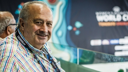 FIBA PRESIDENT MURATORE DELIGHTED WITH WOMEN'S WORLD CUP, LOOKS FORWARD TO ELECTRIFYING FINISH