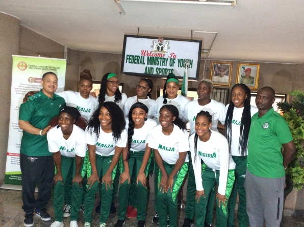 NIGERIA'S SPORTS MINISTER, DALUNG SENDS FORTH D'TIGRESS TO WORLD CUP