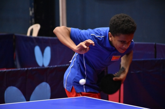 TEENAGER MAKES HISTORY FOR ERITREA IN MAURITIUS