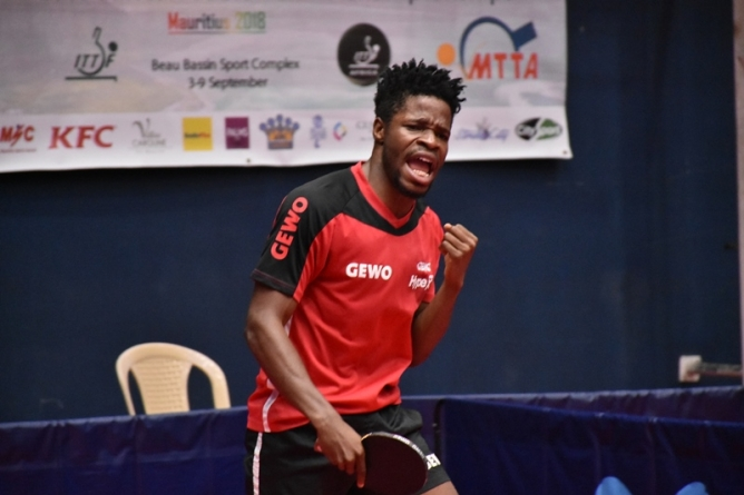 AFRICAN TABLE TENNIS: NIGERIA'S OLAJIDE OMOTAYO IN MAURITIUS' DREAMLAND
