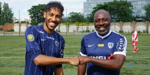 AUBAMEYANG'S FATHER BECOMES GABON'S NEW COACH
