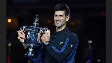DJOKOVIC CLAIMS 14TH GRAND SLAM AS HE WINS US OPEN